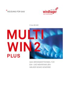 Gasheizung Windhager MultiWIN2 plus